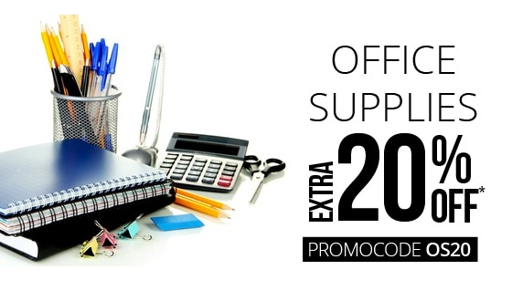 Paytm: Office Supplies Extra 20% off