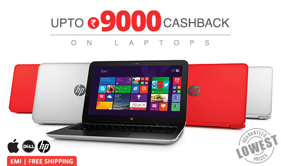 High Performance Laptops | Upto Rs 9000 off