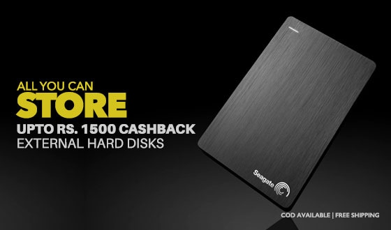 HDDs | Upto Rs 1500 Off
