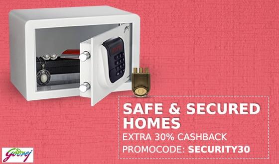 Electronics Safes Extra 50% Cashback @Paytm