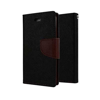 Vignesha Marketings Diary Cover Flip Cover For Samsung Galaxy Grand 2 (Black)