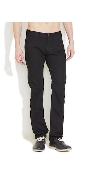 Lee Black Denim Skinny Fit Jeans (Size-30)