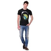Slingshot Black Cotton Tshirt