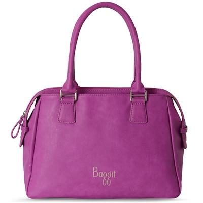 Baggit L Edge Outer Lavender Handbag