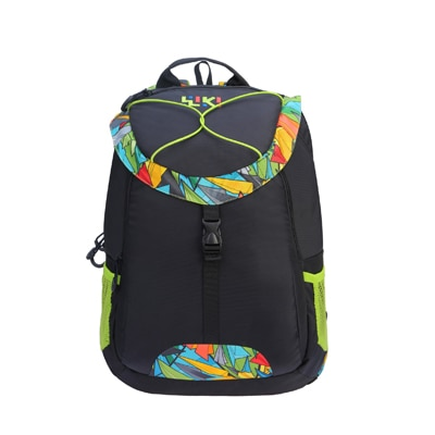 Wiki Polyester Black Backpack   (Non-Laptop Backpack)