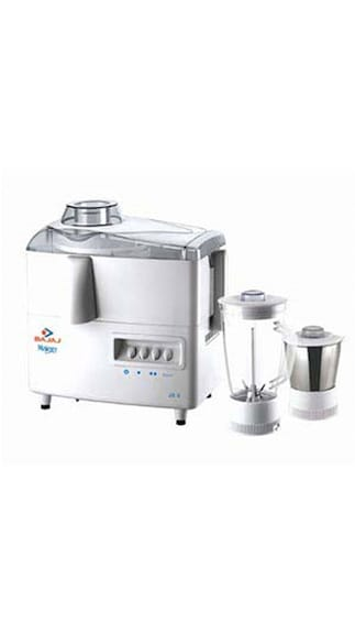 Bajaj Majesty JX 4 Juicer Mixer Grinder (White)