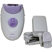 Braun Silk Epil 3 3170 Legs Epilator For Women (Purple)