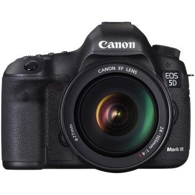 Canon EOS 5D Mark III Kit (With EF 24-105 Mm F/4L IS USM) 22.3 MP DSLR Camera (Black)