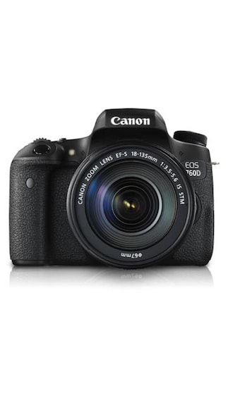 Canon EOS 760D Kit (with EF-S18-135mm IS STM) 24.2 MP DSLR Camera @ 59,991