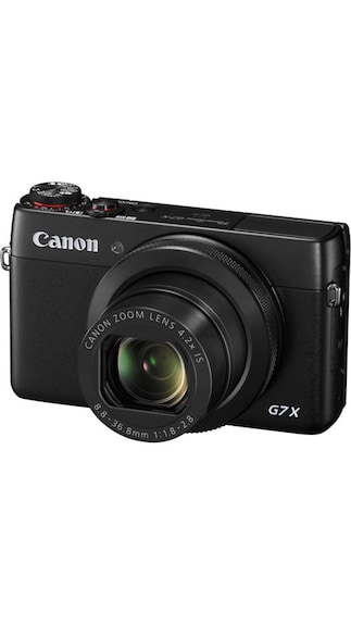 Canon PowerShot G7 X 20.2MP Advanced Point & Shoot Camera (Black)