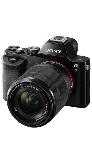 Sony ILCE-7K 24.3 MP Mirrorless Camera (Black)