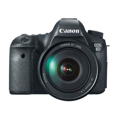 Canon EOS 6D (With 24 - 70 Kit) 20.2 MP DSLR Camera (Black)