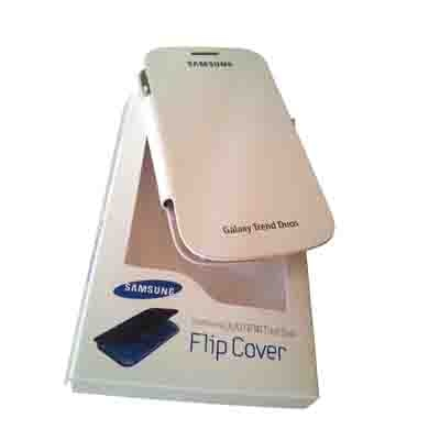 Castle Flip Cover For Samsung Galaxy Duos 7562 (White)