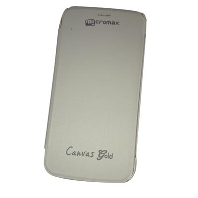 Castle Flip Cover For Micromax A190 (White) - 4067523