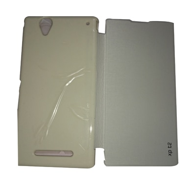 Castle Flip Cover For Sony Xperia T2 (White) - 4067528