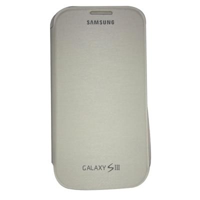 Castle Flip Cover For Samsung Galaxy S3 (White)