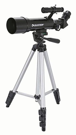 Celestron Travel Scope 50 Telescope (Black)