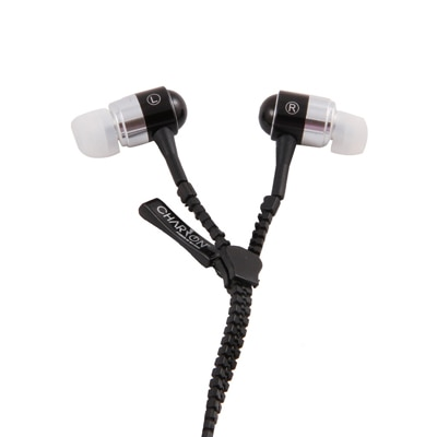 Charzon Power Black In The Ear Wired Headset (Black)