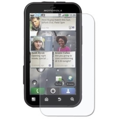 Amzer 91984 Anti-Finger Print Screen Guard For Motorola Defy & Motorola Defy Plus