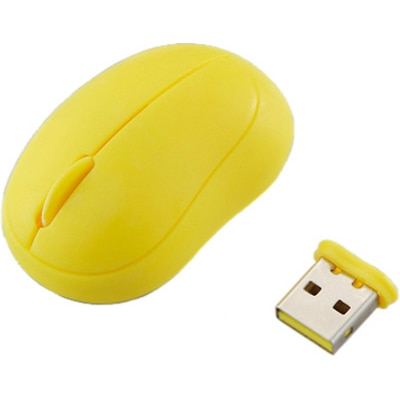 Elecom Baby Beans M-BM1DLYL Wireless Laser Mouse (Black)