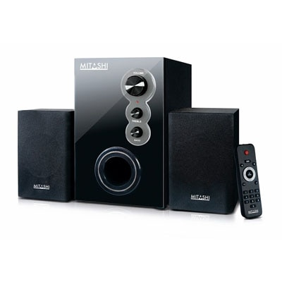 Mitashi HT25FUR Multimedia Speaker (Black)