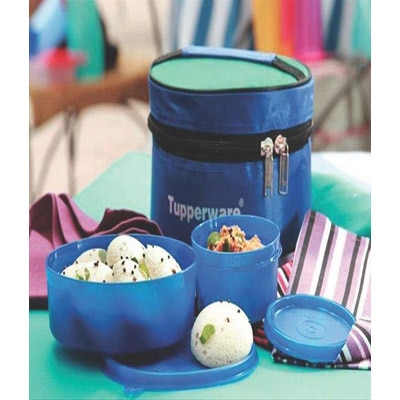 Tupperware Classic Lunch Box With Insulated Bag