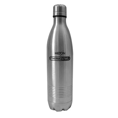 Milton Silver Thermosteel Bottle - 1000 Ml Flask