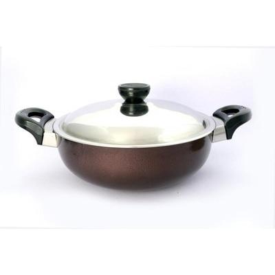 Metallino Nonstick Deep Kadai