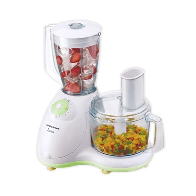 Morphy Richards Icon DLX Mixer Grinder (White & Green)