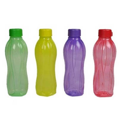 Tupperware Aquasafe Set Of 4 Water Bottles