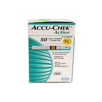 Accu-Chek Active 50 Test Strip Box
