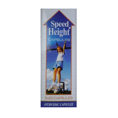 Makewell Pharmaceuticals Speed Height Capsule Pack Of 180 Capsules