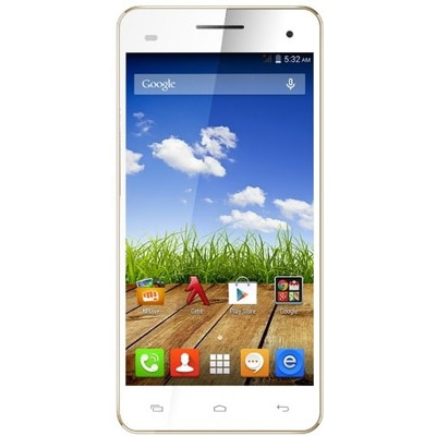 Micromax Canvas HD Plus A190 (White)