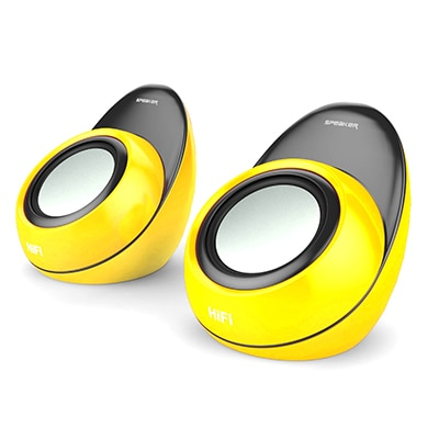 Mitashi ML 1600 Portable Speaker (Yellow)