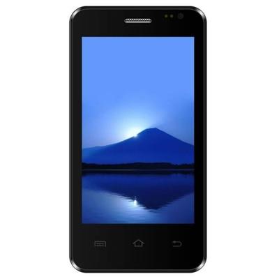 Diyi Xpect 400 3G 4 GB Phone (Black & Red)