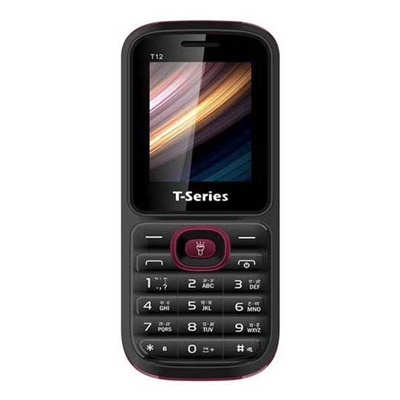 T-series T12 Dual Sim Phone (Black)