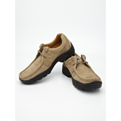 Woodland Natural Suede Loafers With Lace  Ups available at Paytm for Rs.2495