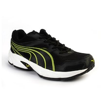 Puma Black And Lime Green Sports Shoes