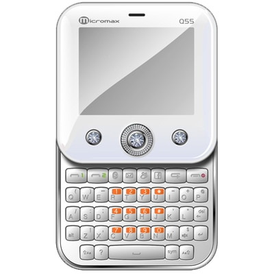 Micromax Bling Q55 (Pearl White)
