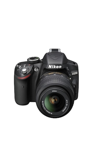 Nikon D3200 24.2 MP DSLR Camera (With AF-S 18-55 mm VR Lens) (Black)