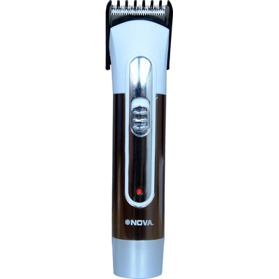 Nova NHT 1022 Trimmer For Men (Silver)