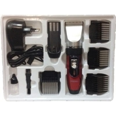 Nova NHT 1025 Trimmer For Men (Red)