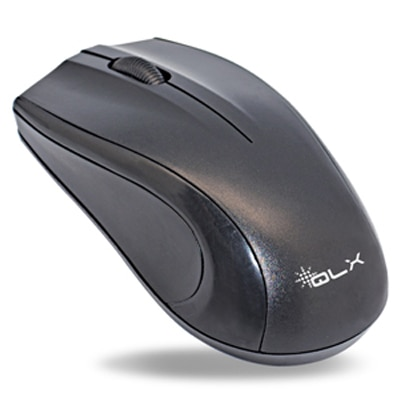 QLX M835 PS2 Optical Mouse (Black)