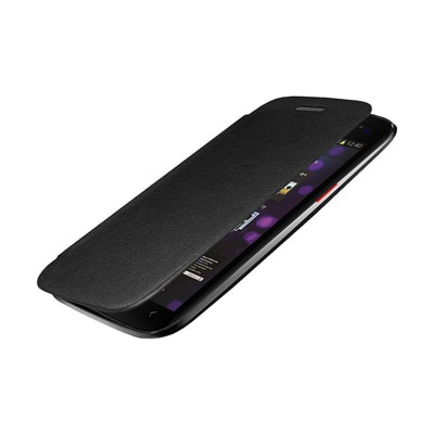 QLS Flip Cover For Micromax Canvas 2 110