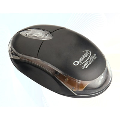Quantum QHM 222 USB Mouse (Black)