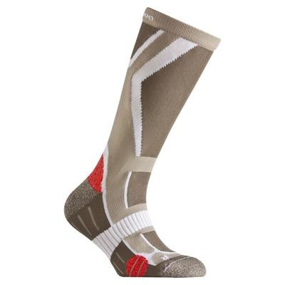 Quechua Forclaz 500 Junior Hiking Sock-Light Brown