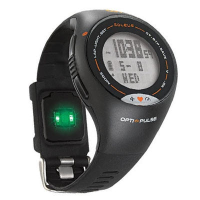 Soleus Pulse Heart Rate Monitor-Black And Grey