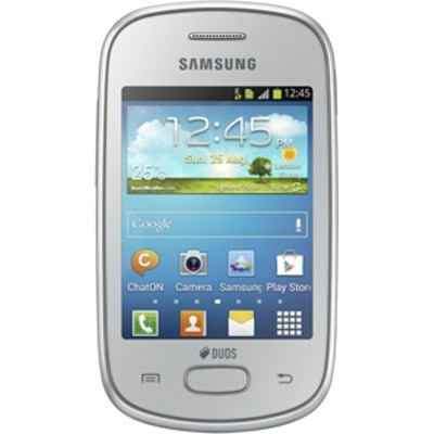 Samsung Galaxy Star S5282  Silver  available at Paytm for Rs.3750
