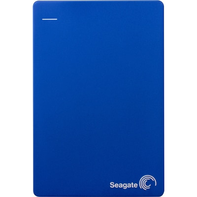 Seagate Backup Plus Slim 2.5 Inch 1 TB External Hard Disk (Blue)