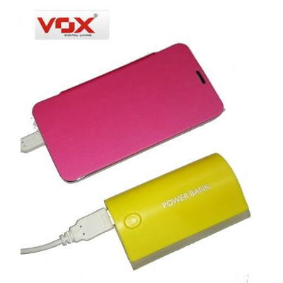 VOX 8000mAh USB Power Bank Mobile Charger With UV Money Currency Detector